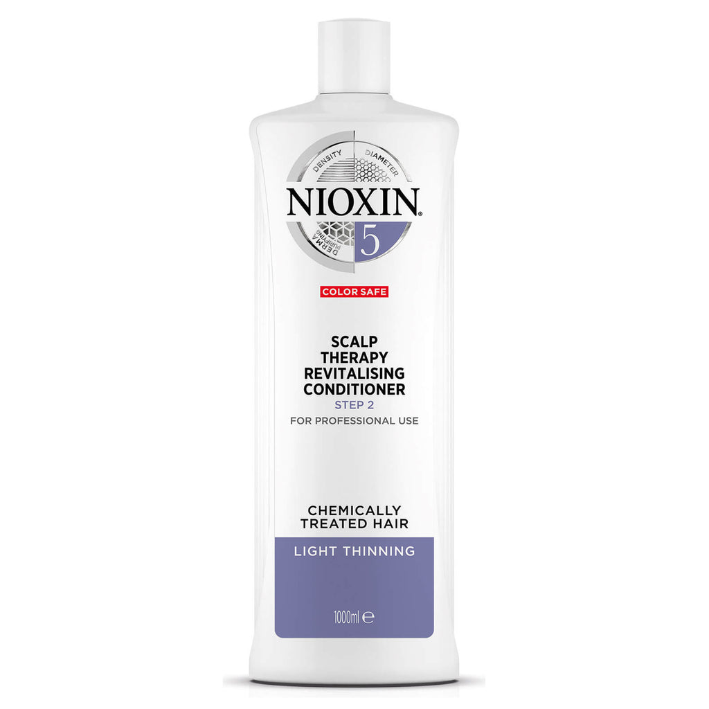 NIOXIN SYSTEM 5 SCALP THERAPY REVITALIZING CONDITIONER FOR CHEMICALLY TREATED HAIR WITH LIGHT THINNING 1000ML
