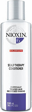 NIOXIN SYSTEM 6 SCALP THERAPY REVITALISING CONDITIONER FOR CHEMICALLY TREATED HAIR WITH PROGRESSED THINNING 300ML