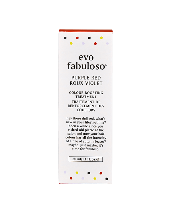 EVO FABULOSO PURPLE RED COLOUR BOOSTING TREATMENT 30ML
