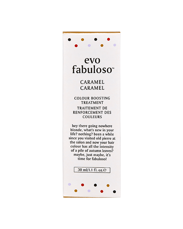 EVO FABULOSO CARAMEL COLOUR BOOSTING TREATMENT 30ML