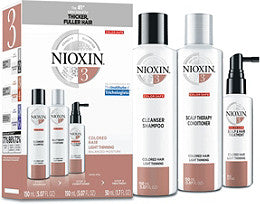 NIOXIN SYSTEM 3 - 3 PIECE KIT FOR LIGHTLY THINNING COLOURED HAIR