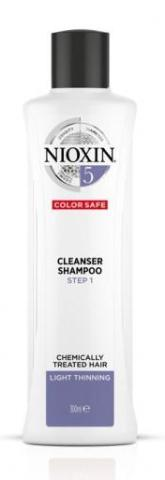 NIOXIN SYSTEM 5 CLEANSER SHAMPOO FOR CHEMICALLY TREATED HAIR WITH LIGHT THINNING 300ML