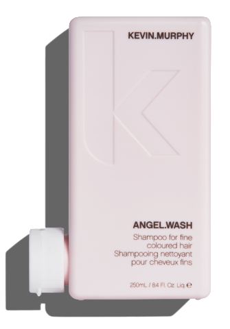 KEVIN MURPHY ANGEL WASH 250ML A gentle repairing shampoo designed specifically for fine, fragile or broken hair that is coloured or damaged.