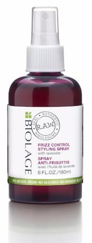 BIOLAGE R.A.W. FRIZZ CONTROL STYLING SPRAY 180ML