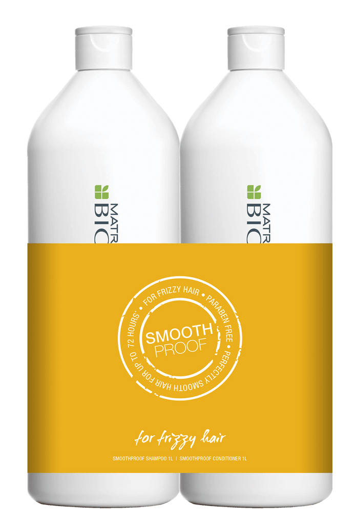 BIOLAGE SMOOTHPROOF SHAMPOO & CONDITIONER 1 LITRE DUO