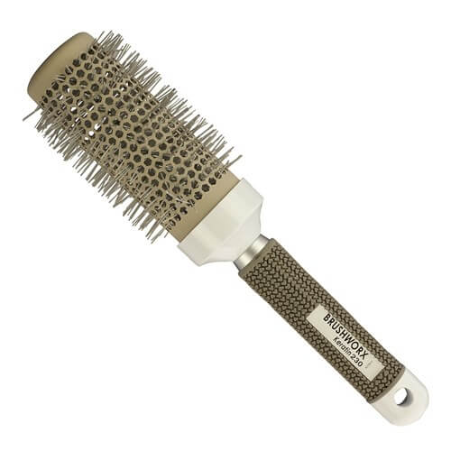 BRUSHWORX KERATIN CERAMIC ROUND BRUSH 60MM - LARGE