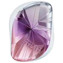 Load image into Gallery viewer, TANGLE TEEZER COMPACT SMASHED HOLO BLUE