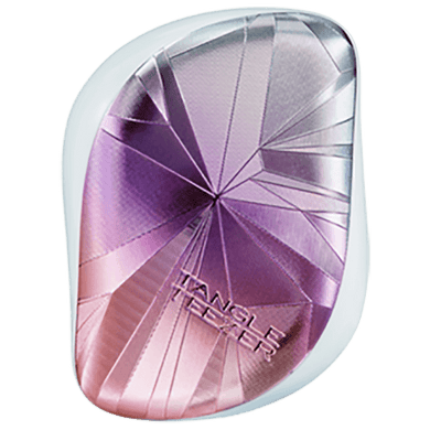 Tangle Teezer Compact Smashed Holo Blue