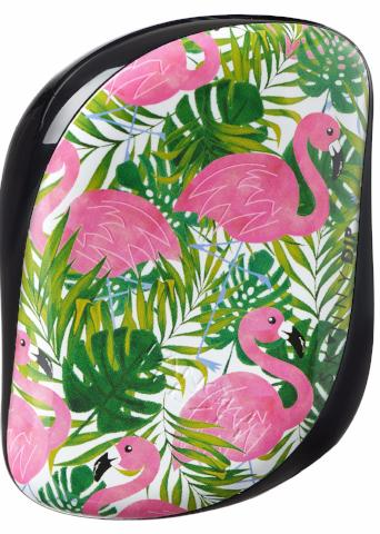 TANGLE TEEZER COMPACT SKINNY DIP PALM PRINT