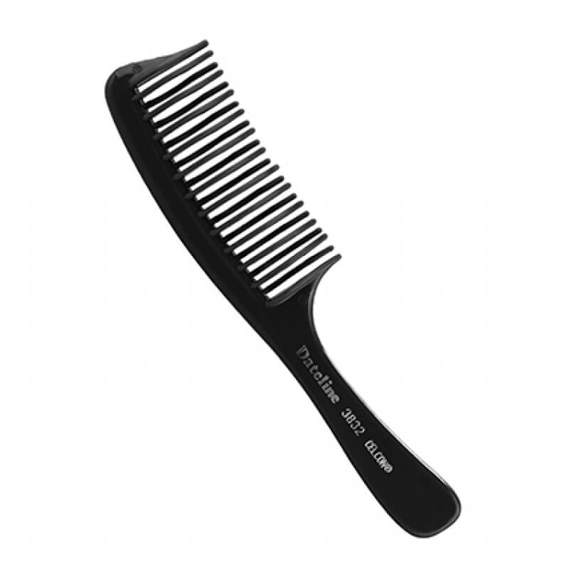 DATELINE PROFESSIONAL 3832 CELCON WIDE TOOTH DETANGLING COMB 20CM