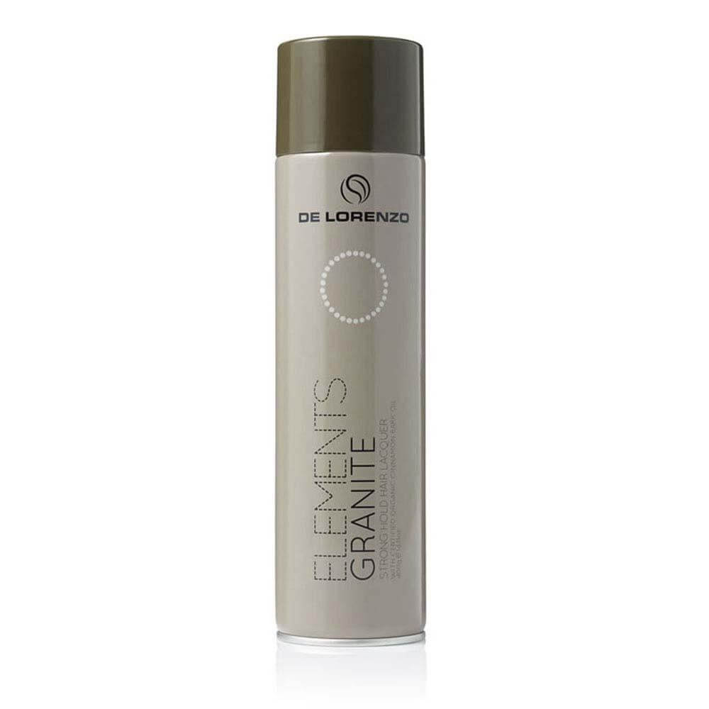 DELORENZO ELEMENTS GRANITE STRONG HOLD HAIR LACQUER 400G