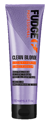 FUDGE CLEAN BLONDE VIOLET TONING CONDITIONER 250ML