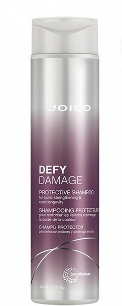 JOICO DEFY DAMAGE PROTECTIVE SHAMPOO FOR BOND STRENGTHENING & COLOUR LONGEVITY 300ML