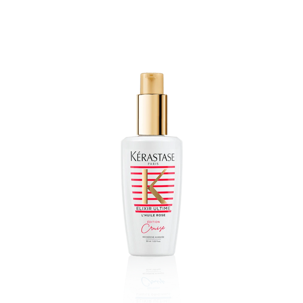 KÉRASTASE ELIXIR ULTIME L'HUILE ROSE HAIR OIL LIMITED EDITION CRUISE COLLECTION TRAVEL SIZE 30ML