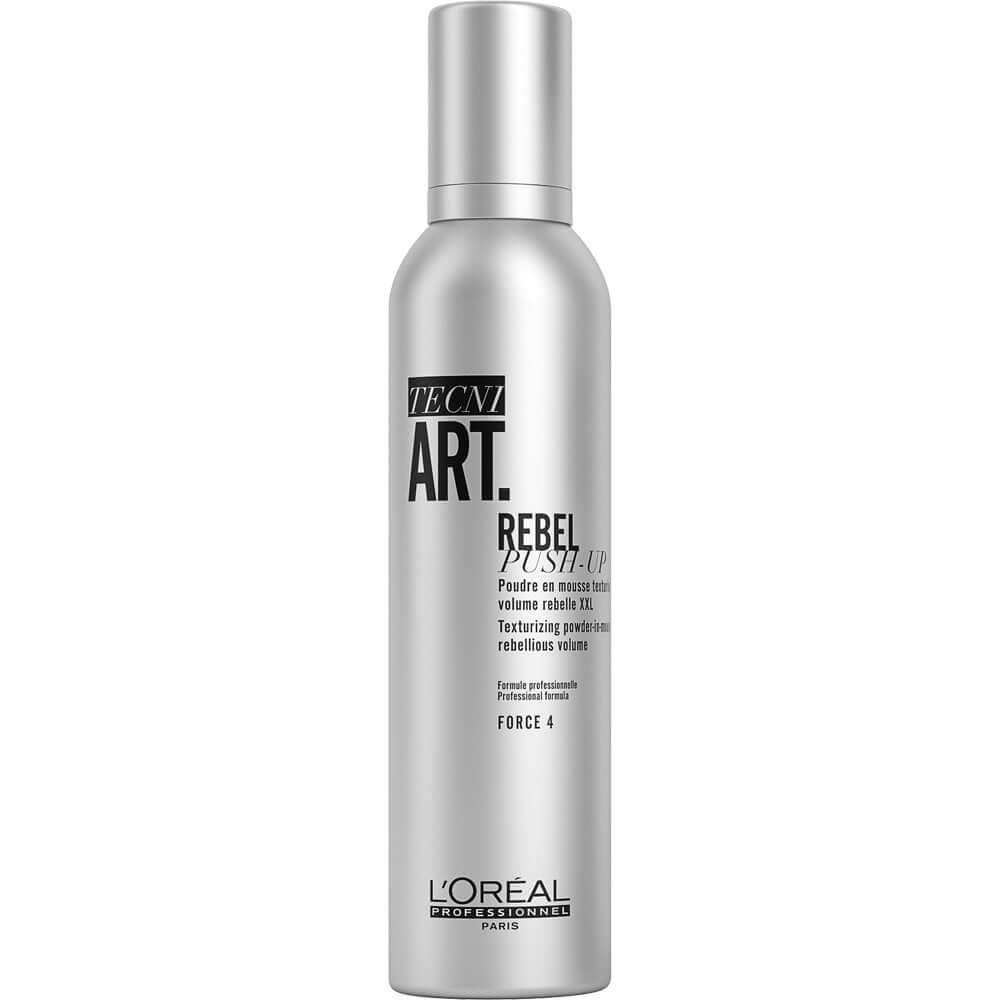 L'ORÉAL PROFESSIONNEL TECNI.ART REBEL PUSH UP TEXTURISING & VOLUMISING POWDER-IN-MOUSSE 250ML