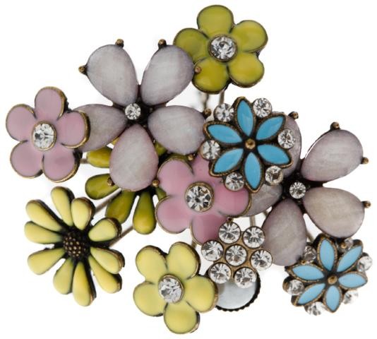 KOKORO BLOOM BOUQUET OF FLOWER HAIR PINS