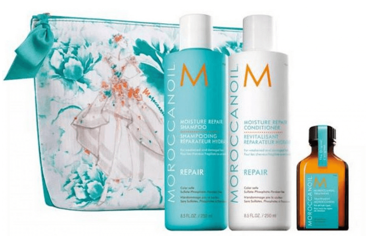 MOROCCANOIL LIMITED EDITION MARCHESA MOISTURE REPAIR GIFT SET