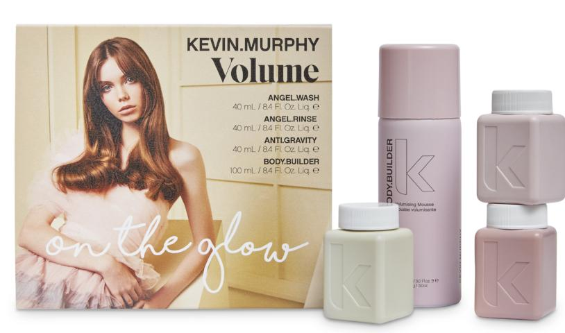 KEVIN MURPHY VOLUME ON THE GLOW TRAVEL SET VALUED AT $71