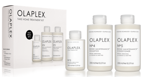 OLAPLEX 3 PIECE TAKE HOME TREATMENT KIT VALUED AT $165