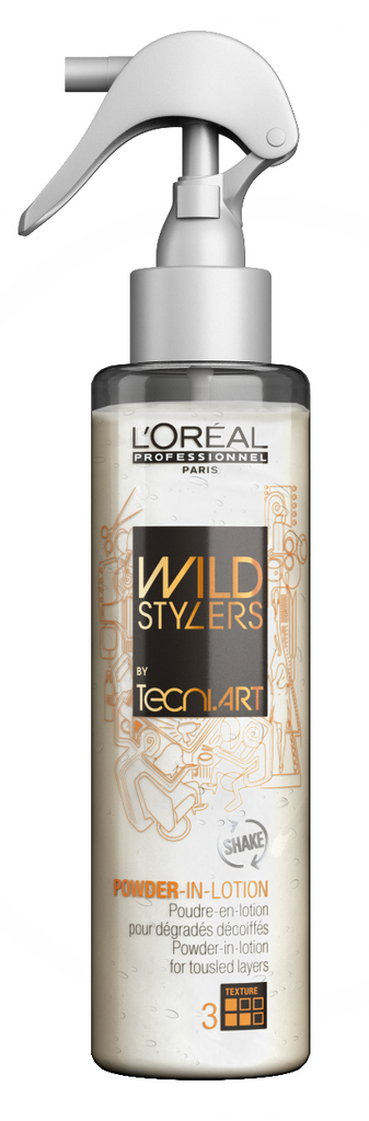 NEW L'ORÉAL PROFESSIONNEL TECHNI ART WILDSTYLERS POWDER IN LOTION 150ML