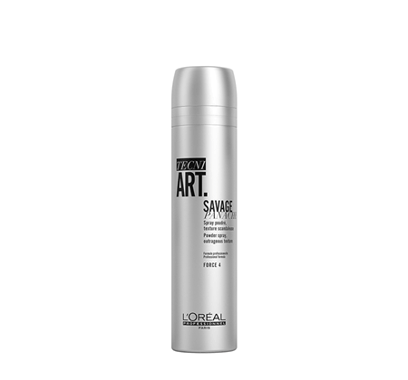 L'ORÉAL PROFESSIONNEL SAVAGE PANACHE TEXTURIZING POWDER HAIR SPRAY 250ML