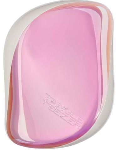 TANGLE TEEZER COMPACT  HOLOGRAPHIC PINK