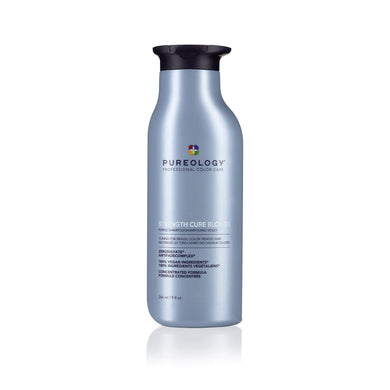 PUREOLOGY STRENGTH CURE BLONDE TONING SHAMPOO 266ML