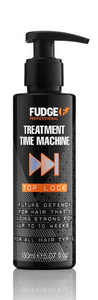 FUDGE TREATMENT TIME MACHINE HAIR MASQUE 150ML A lightweight yet intensive, treatment designed to both super luxurious and nourishing, penetrating deeply into your hair to condition and repair.