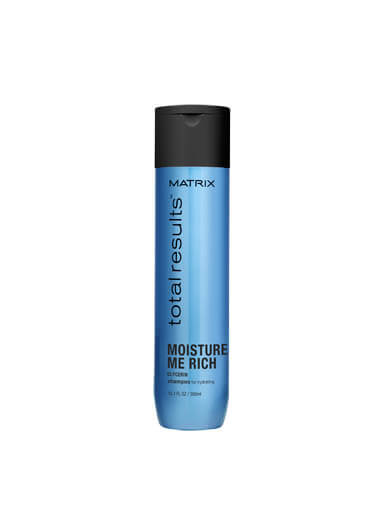 MATRIX TOTAL RESULTS MOISTURE ME RICH SHAMPOO FOR HYDRATING DRY HAIR 300ML