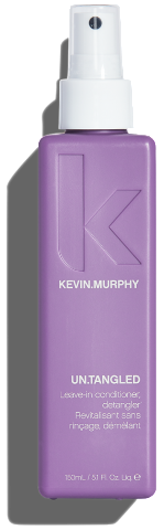 KEVIN MURPHY UNTANGLED 150ML A leave-in conditioner formulated to detangle, strengthen, and restore dry hair while providing a light heat protection
