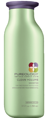 PUREOLOGY CLEAN VOLUME SHAMPOO 250ML Sulfate Free  Paraben Free  Silicone Free  100% vegan shampoo