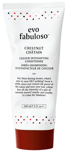 EVO FABULOSO CHESTNUT COLOUR BOOSTING TREATMENT 220ML
