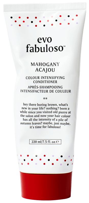EVO FABULOSO MAHOGANY COLOUR BOOSTING TREATMENT 220ML