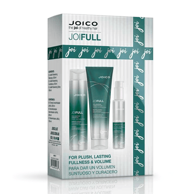 JOICO JOIFULL 3 PIECE GIFT SET FOR FINE HAIR VALUED AT $116