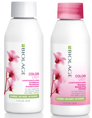 BIOLAGE COLORLAST SHAMPOO & CONDITIONER TRAVEL SIZE 50ML DUO