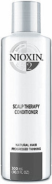 NIOXIN SYSTEM 2 SCALP THERAPY REVITALISING CONDITIONER FOR NATURAL HAIR WITH PROGRESSED THINNING 300ML