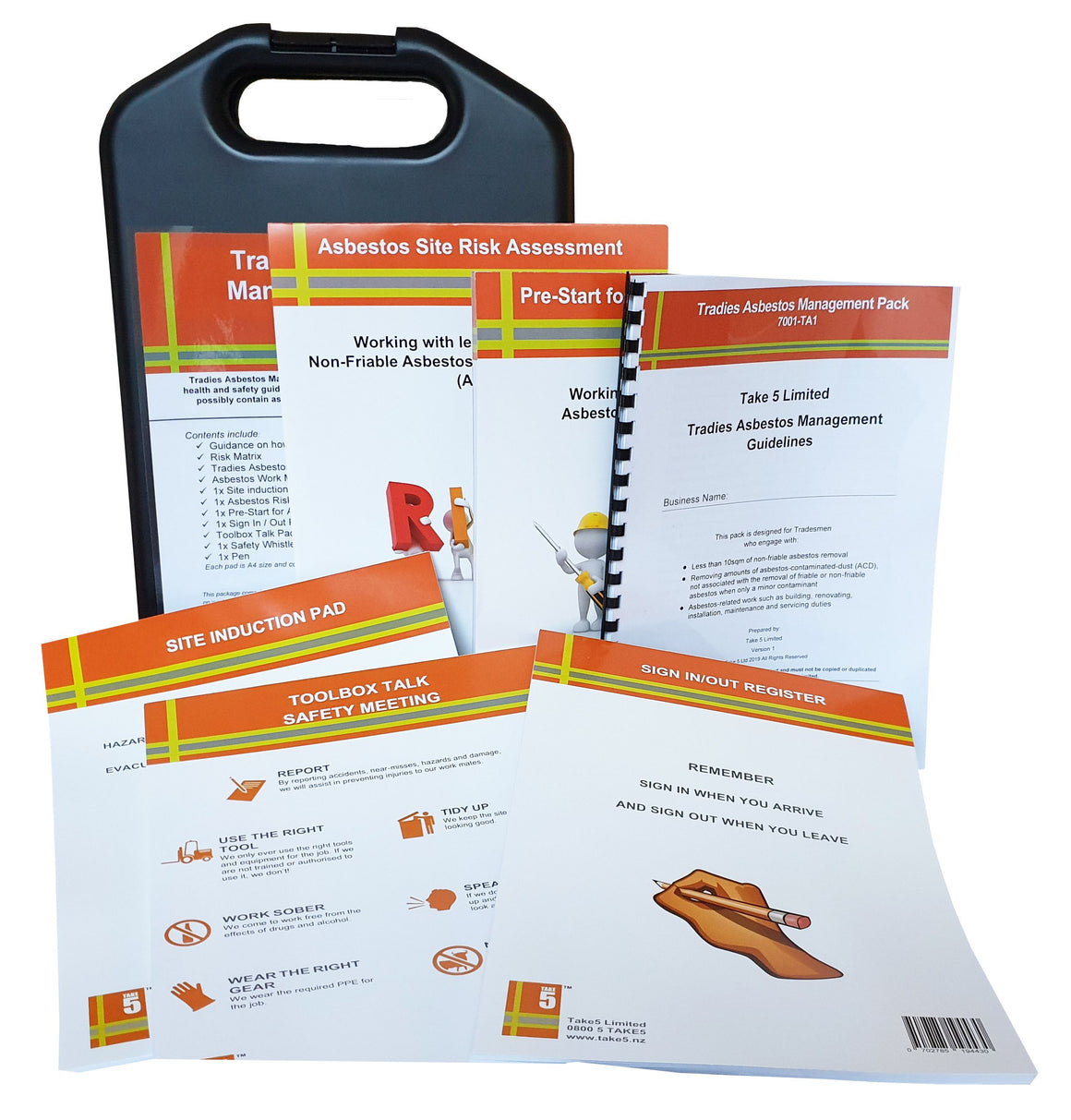 Tradie Asbestos Management Pack
