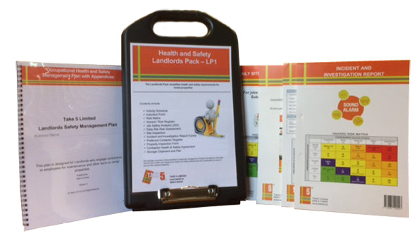 Landlord Health and Safety Management Pack - Digital Health and Safety Management System