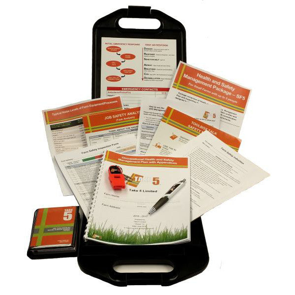 Farmers - Health and Safety Management Kit
