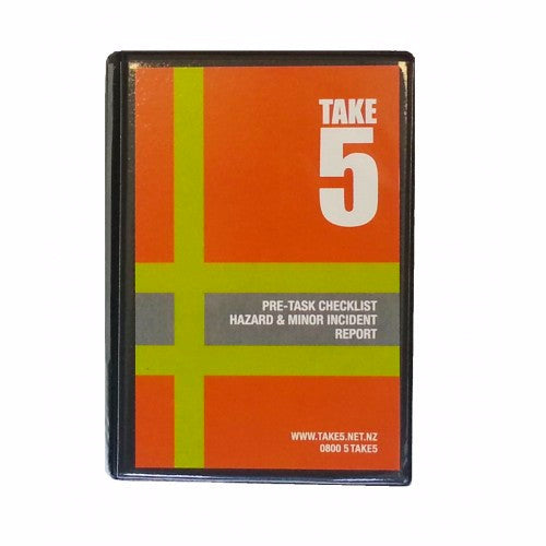 Take 5 Workers Health & Safety Booklet