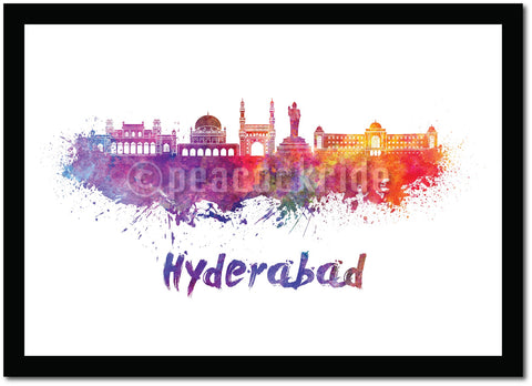 """Hyderabad"" Wall Poster/Frame"