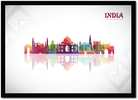 """India"" Wall Poster/Frame"