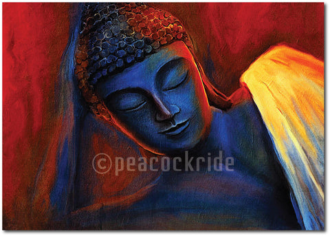 Sleeping Buddha Wall Poster / Frame