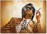 Rajinikanth - The Boss of Indian Cinema Wall Poster / Frame