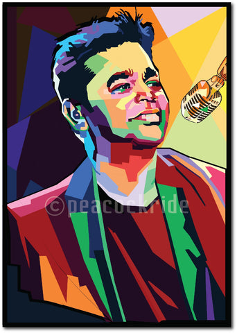 AR Rahman-The Mozart of Madras wall Poster/Frame