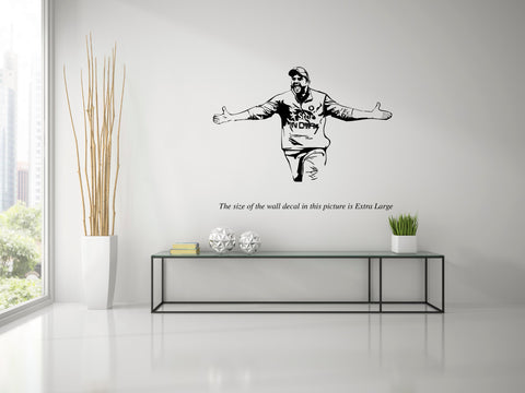 Suresh Raina,Raina,Wall Decal,Large,Extra Large, Wall Sticker