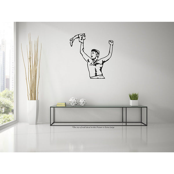 Ganguly Lords Winning Moment Wall Decal