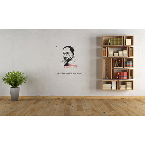 Ambedkar, Ambedkar Sticker, Ambedkar Wall Sticker, Ambedkar Wall Decal,  Ambedkar Decal