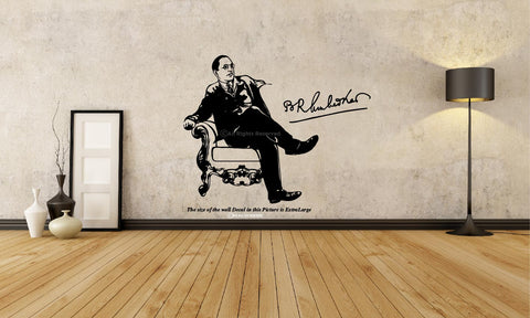 Wall Decal, Ambedkar Wall Decal, Ambedkar