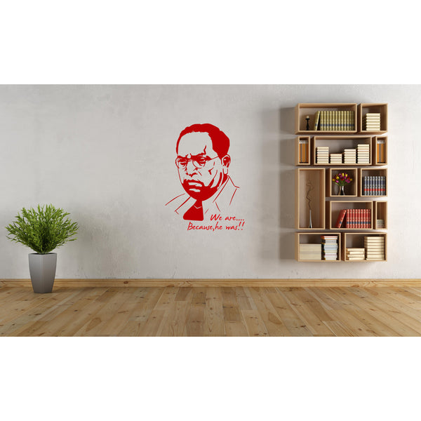 Legendary Ambedkar Wall Decal
